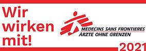 Ärzte ohne Grenzen wir wirken mit Logo