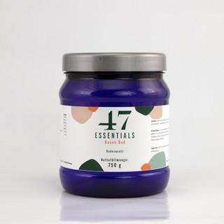 47 Essentials Basenbad (750 Gramm)