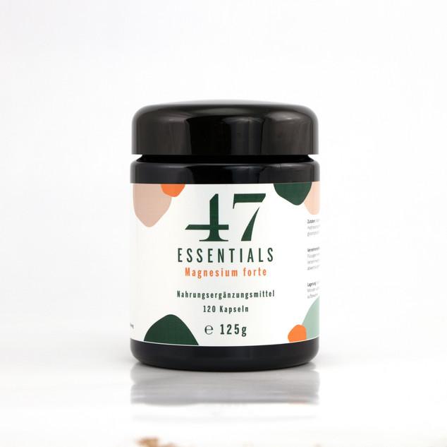 47 Essentials Magnesium forte (120 Kapseln)