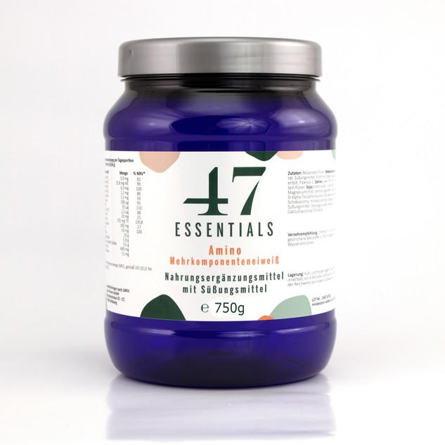 47 Essentials Amino(750 Gramm)