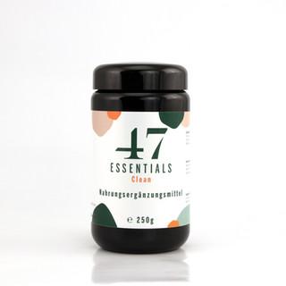 47 Essentials Clean (250 Gramm)