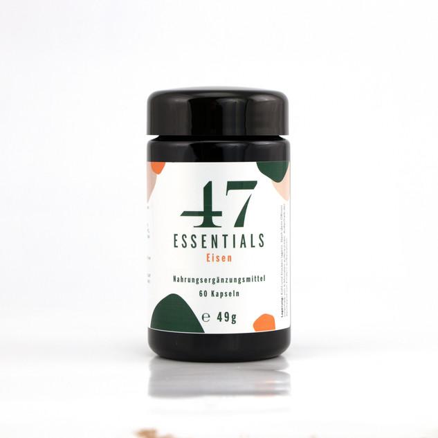 47 Essentials Eisen (60 Kapseln)