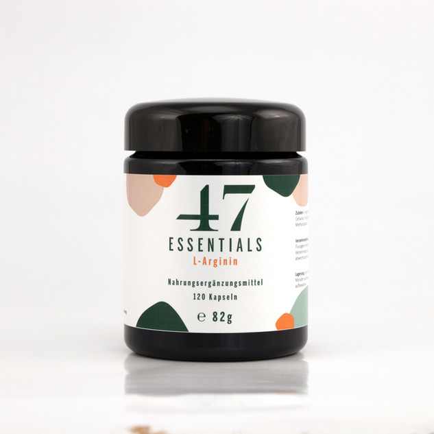 47 Essentials L Arginin (120 Kapseln)