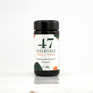47 Essentials Omega 3 Fischöl 60 Kapseln