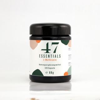 47 Essentials L Methionin (120 Kapseln)