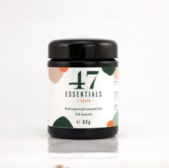 47 Essentials L Lysin (120 Kapseln)