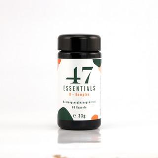 47 Essentials B Komplex (60 Kapseln)