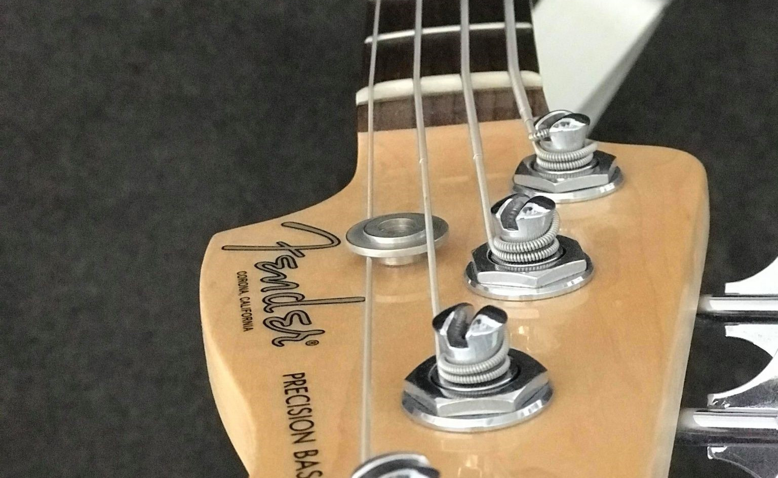 Fender American P-Bass - A classic that never gets old.