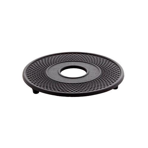 Dessous de plat noir en fonte 13 cm