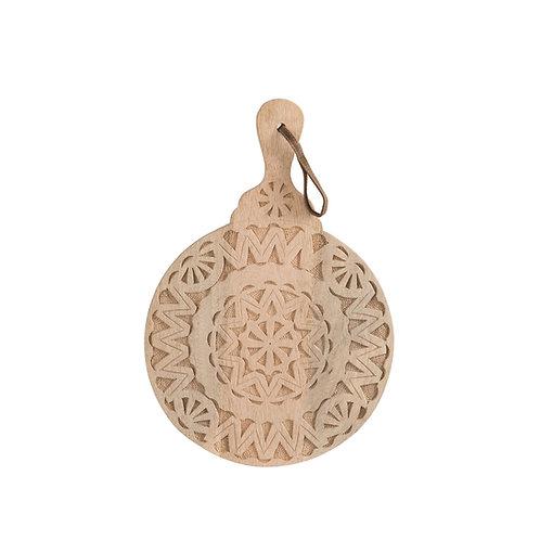 Planche ronde à découper ou à présenter en bois motifs