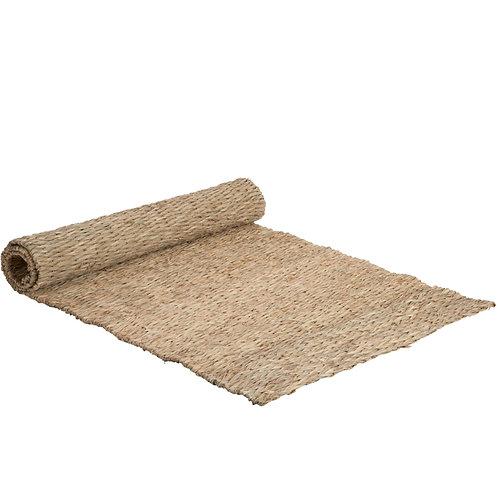 Tapis rectangulaire en bambou tressé 50x100 cm