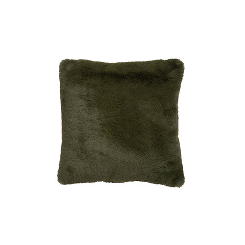 Coussin doux vert 45x45 cm