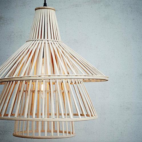 Suspension en bambou naturel