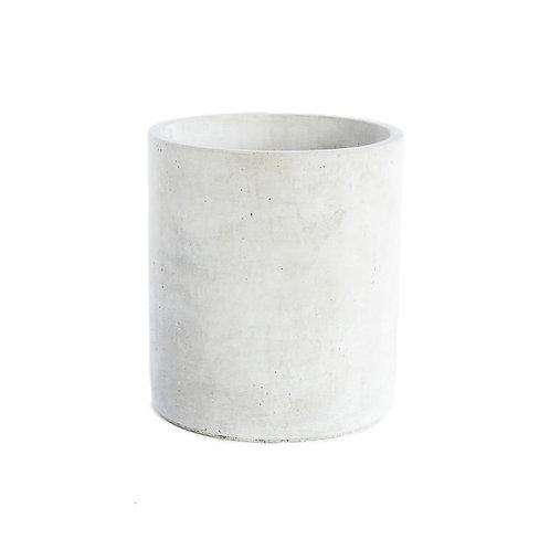 Grand pot en céramique blanc