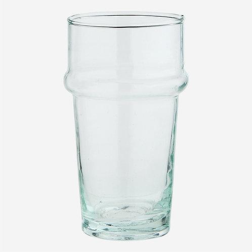 Lot de 6 verres marocains en verre recyclé - 2 coloris