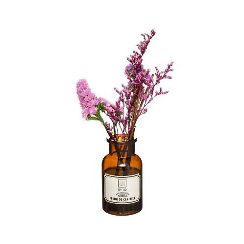 Diffuseur de parfum pot apothicaire fleurs séchées senteur Fleurs de cerisier