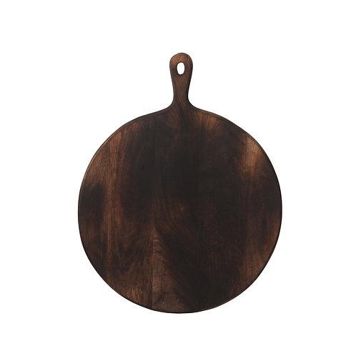 Planche à découper ou à présenter ronde en bois