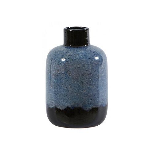 Vase bleu dégradé en céramique - 2 formes