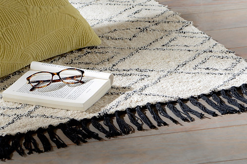 Tapis folklore berbère 100% coton 170x250 cm