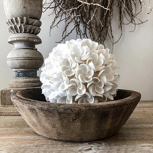 Boule de coquillages de Bali fleur taille S