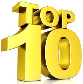 Image result for top ten logo