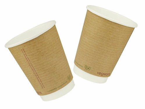 Vegware 12oz Double Wall Craft - pack of 500