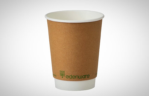 Double Wall (PLA) Compostable Cups 12oz - pack of 500