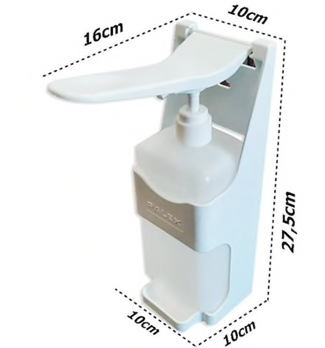 GAMA Manual Dispenser - Sanitiser/ Soap/ Hand gel