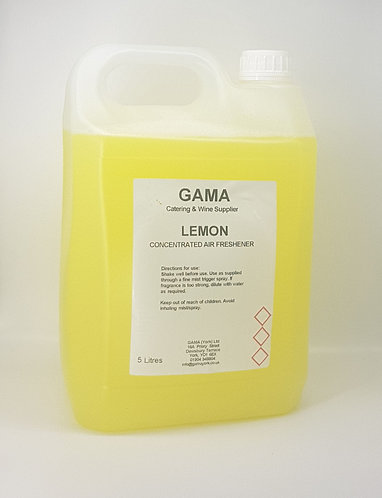 GAMA Concentrated Liquid Air Freshner LEMON- 5l