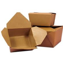#1 Small Kraft Snack Box- Box of 450