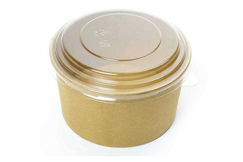 Lids for Kraft Round Bowls 1000 ml (300)