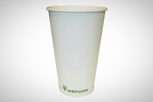 Single Wall Compostable Cups 12oz - Pack of 1000