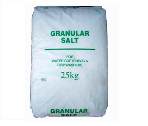 DISHWASHER GRANULAR SALT 25 KG
