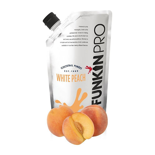 Funkin White Peach Puree 1kg
