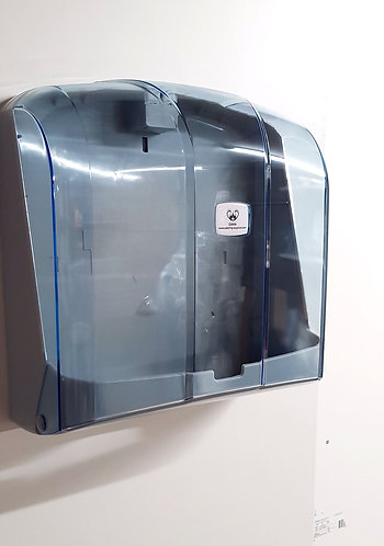 GAMA  Paper Towel Dispenser C Fold / V Fold Transparent