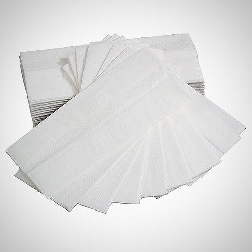 C Fold - Hand Towel 2 ply White, 22.5 x 33 cm - 2400