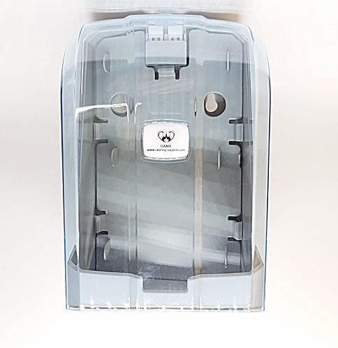 GAMA Z Folded Toilet Paper Dispenser Transparent