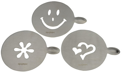 Coffee Design Forms- Set of 3