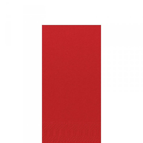Red Napkins 2 ply, 8 Fold, Box of 125