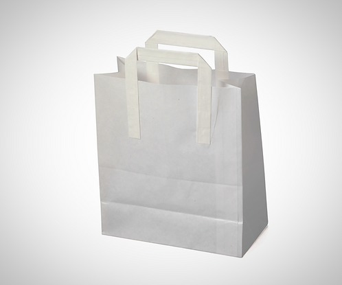 Large White SOS Bags (Case of 250)