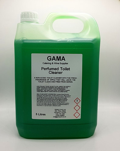 GAMA Gel Toilet Cleaner Perfumed and Non Acid -5l