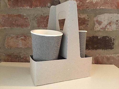 2 Cups Handle Carrier (Cardboard) - 250 pieces