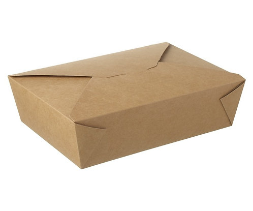 #3 Large Kraft Food Box, pack of 180
