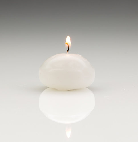 Floating Candles White (25)