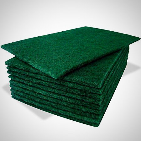 Extra Heavy Duty Green Scourer Pads- Pack of 10