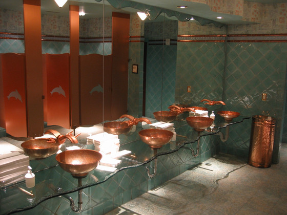 A clean washroom equals a clean restaurant!