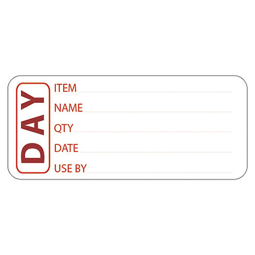 Prepared Food Labels(Day) - pack of 500