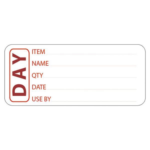 Use by date sticker