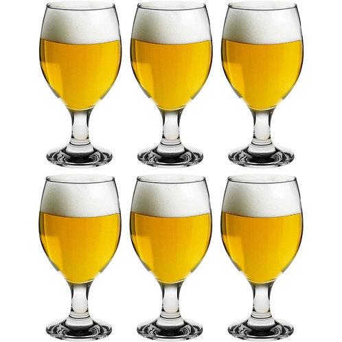 Stemmed Beer Glasses 400 ml - set of 6