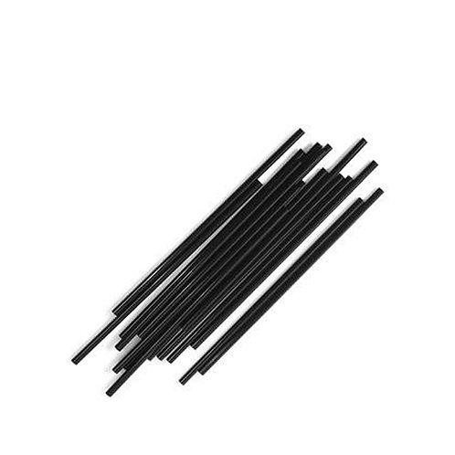 GAMA 5.5 inch Black Straws 1000pk